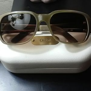 Authentic CHLOE Sunglasses w/ Case